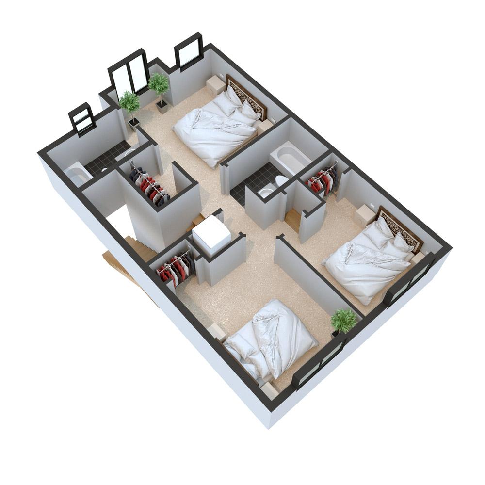 2nd Floor 3B